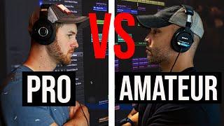 PRO Producer VS AMATEUR Producer (PRODUCER BATTLE)