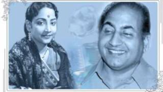 Mohd Rafi, Geeta Dutt : Yeh bheegi bheegi raat: Film - Dr Z (1959)