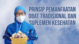249 - PRINSIP PEMANFAATAN OBAT TRADISIONAL DAN SUPLEMEN KESEHATAN