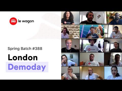Coding Bootcamp London   Le Wagon Demo Day - Batch #388