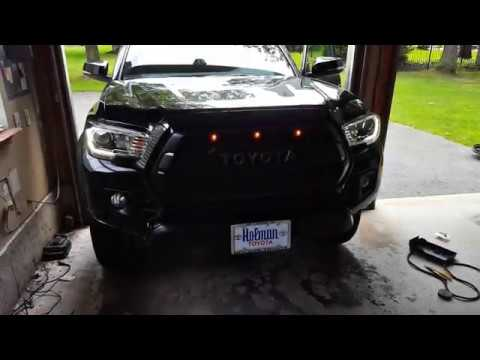 Easy Toyota Tacoma Raptor Running Lights Mod With Disconnect Plug