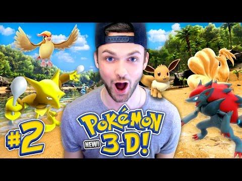 Pokemon 3D - SEASON 2! (NEW) - WHICH POKEMON DID WE SUMMON? (#2)