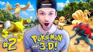 connectYoutube - Pokemon 3D - SEASON 2! (NEW) - WHICH POKEMON DID WE SUMMON? (#2)