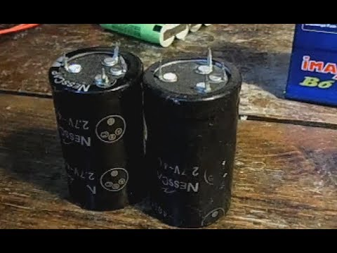 Super Capacitor Amp-Hours?