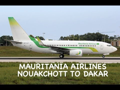 MAURITANIA AIRLINES - ECONOMY | NOUAKCHOTT TO DAKAR (OLD AIR