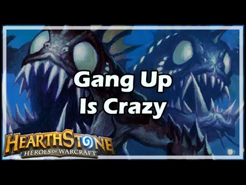 [Hearthstone] Gang Up Is Crazy