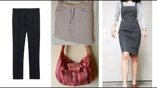 10 Ways to Reuse or Repurpose old Trousers or Pants | Learning Process