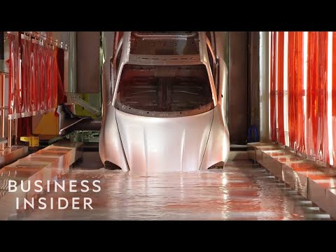How Porsche's First Electric Car (The Taycan) Is Made | The Making Of
