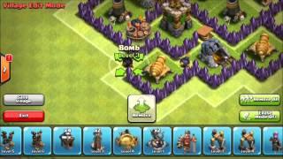 Clash of Clans Best TH7 Farming Base! Tsunami Speed Build 2014