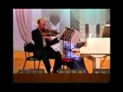 Vladimir Sidorov - Melancholic Suite for violin an | BeSonic