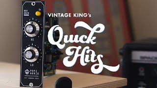 Quick Hits: Pope Audio BAX2020 Classic | 500 Series Baxandall EQ