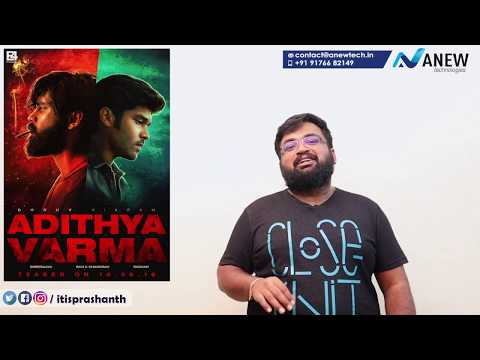 Whats the role of Chiyaan Vikram in Adithya Varma?