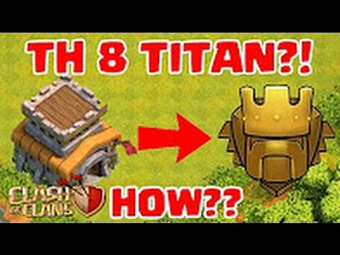 Clash of Clans | TH 8 TITAN?! HOW?? | Town Hall 8 Trophy Record Holder