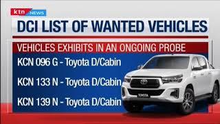 Directorate of Criminal Investigations issues alert over nine motor vehicles