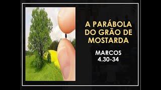 A parábola do grão de mostarda - Pr Marcello Costa