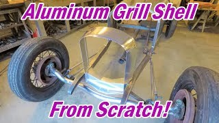 Making a Grill Shell From Scratch! | Boat-tail Speedster Pt. 28