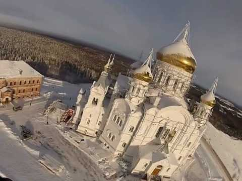 Маршрут на паралете Пермь-Белогорский монастырь-Пермь
