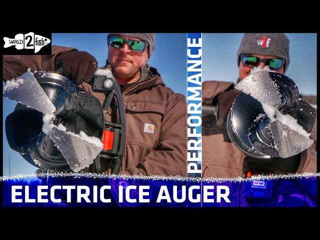 Why Electric Ice Augers are the Best Buy - Wired2Fish com