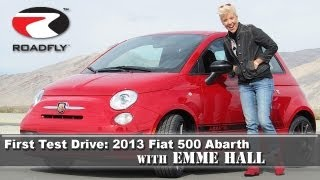 Fiat Abarth First Test Drive by RoadflyTV with Emme Hall