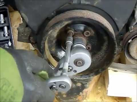HOW TO REPLACE THE TIMING BELT ON VW POLO GOLF JETTA LUPO ( english )