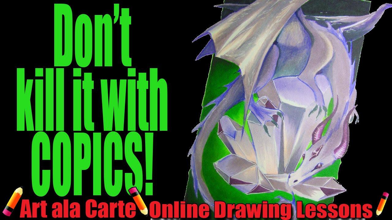 Dont kill it with copics youtube ccuart Choice Image