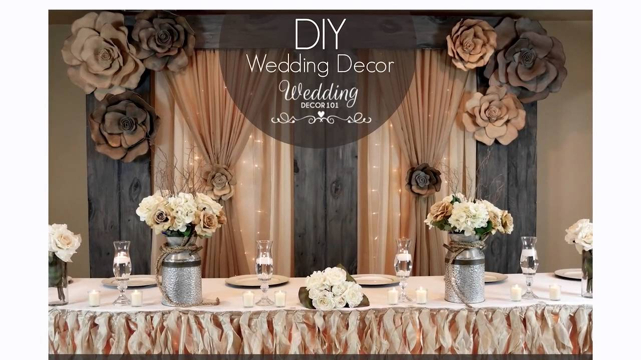 Wedding decor 101 sign up for a week of free diy tips youtube junglespirit Images