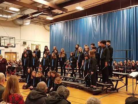 Northshore Middle School 8th Grade Choir Winter 2019