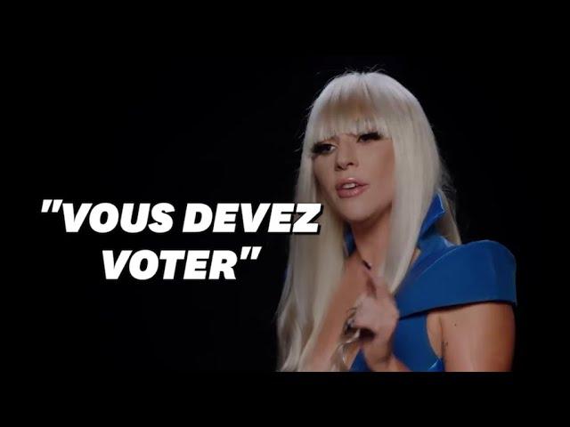 Lady Gaga revisite ses tenues iconiques pour appeler les Américains aux urnes