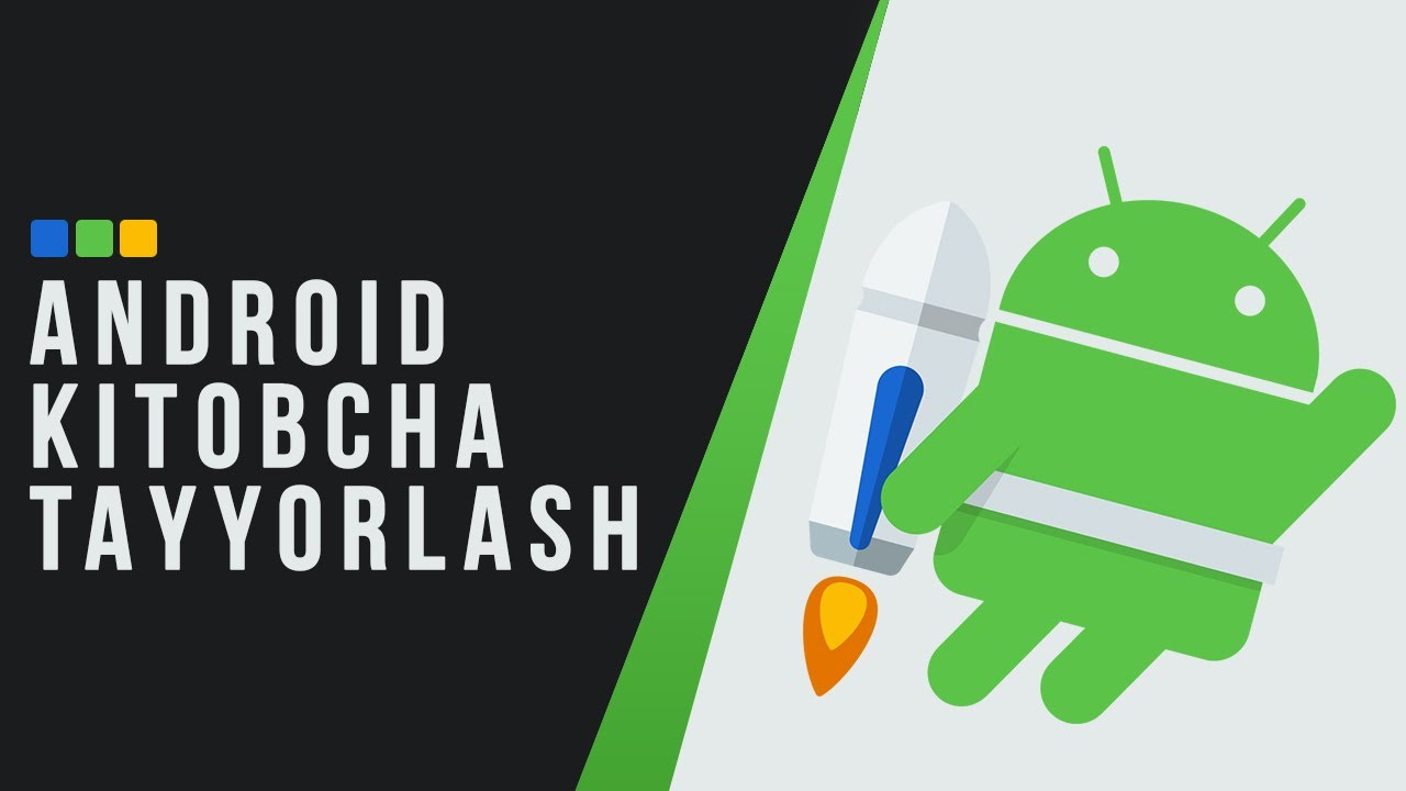 Android (APK) kitobcha tayyorlash