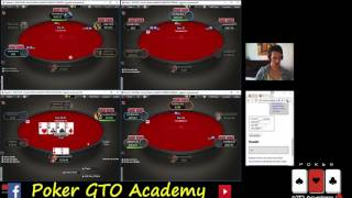 coach PAROSSISMO42 Live Session (parte3) Poker GTO Academy