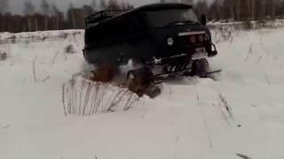 УАЗ на гусеницах stalker-track
