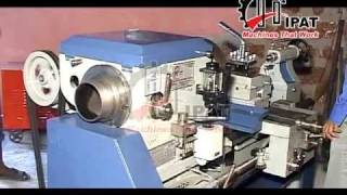 HIPAT BRAND HEAVY DUTY LATHE MACHINE (BED LENGTH =6 FEET)