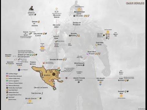 Mapa Dark Souls 2.Guiar Mapas Dark Souls 2 1 Guia Youtube