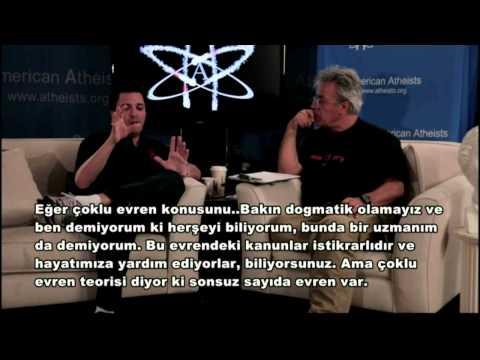 Edip Yüksel vs David Silverman, TR ALTYAZI) Amerikan Ateistler Örgütü Başkanı ile Tartışma TEK PARÇA
