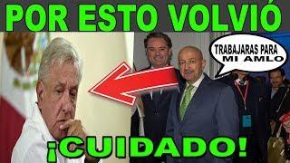 POR ESTA RAZÓN LLEGO SALINAS DE GORTARI a MÉXICO NO LO PODRÁS CREER  TODOS LOS MEDIOS LO OCULTARON