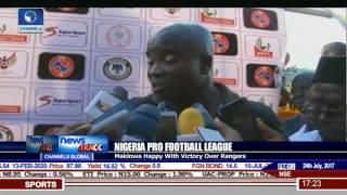 Nigeria Pro Football League: Makinwa Happy With Victory Over Rangers