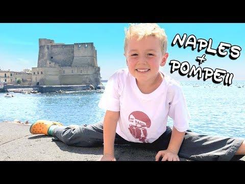 One Suitcase, Four Kids - Pompeii & Naples - Episode 12