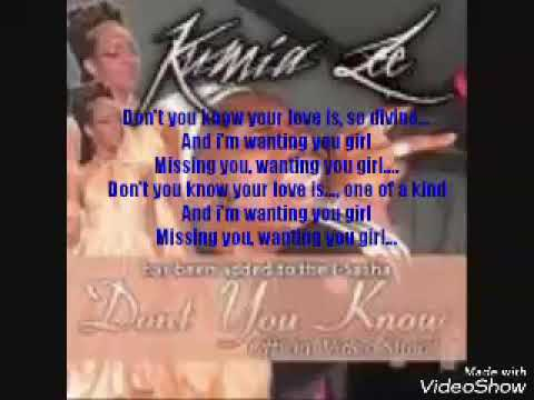 Don't you know your love is lyrics - isasha