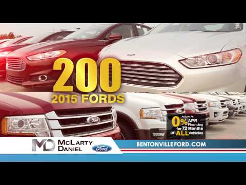 """McLarty Daniel Ford """"Model Year End Sales Event"""" (8/2015)"""
