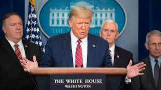 WATCH: Trump and White House Coronavirus Task Force hold news conference - 3/20 (FULL LIVE STREAM)