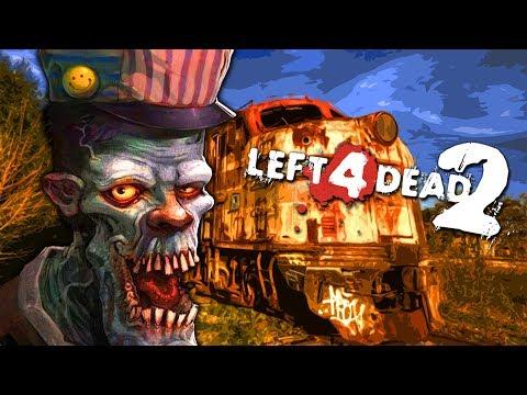 Zombie Train Station - Part 2 (Left 4 Dead 2 Zombies Mod)