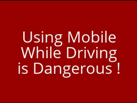Dangers of Using a Cell Phone while Driving