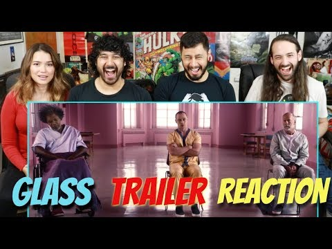 GLASS - Official TRAILER REACTION & REVIEW!!!