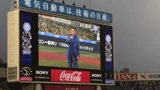 アントニオ猪木が横浜スタジアムに降臨してゴメスに闘魂注入!