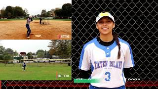 Ellie Perez NCAA Softball Skills Video Class of 2020 Outfield