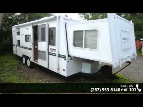 Ft Coleman Caravan Travel Trailer