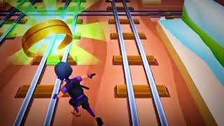 Subway Princess runner : Ninja Character Run    Subway surfers Game    Run Game in Android phone ios