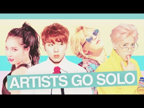 ARTISTS GO SOLO #1