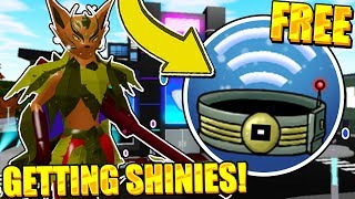 GETTING GLEAMING LOOMIANS ET FREE EXP SHARE IN LOOMIAN LEGACY! Roblox 'Giveaway'