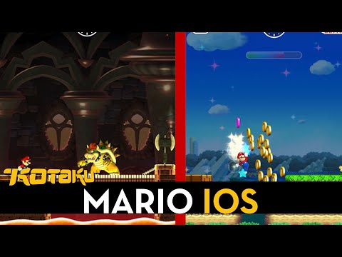 Super Mario , on an iPhone?